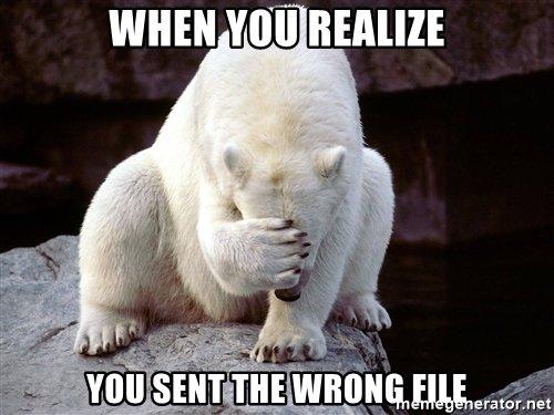 bear facepalm meme